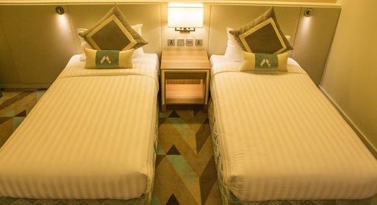Hotel Benilde Maison De La Salle: Superior Twin Free MINI BAR with BFAST Buffet