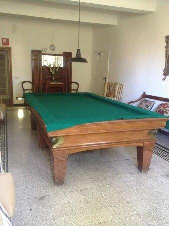 Albergo Il Marzocco : Billiard room