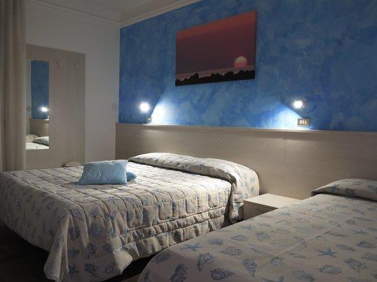 Hotel Letizia : Camera Vista Mare