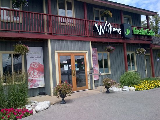 Image result for pictures of Williams fresh cafe hamilton Ontario