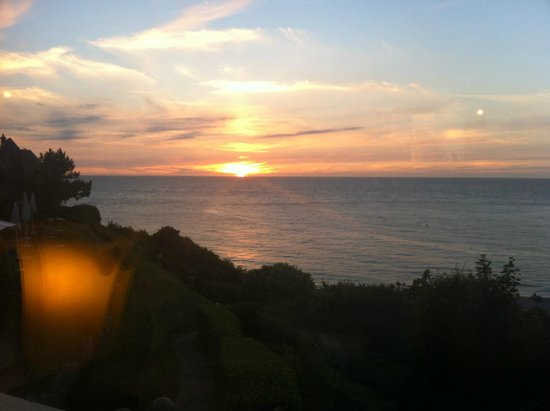 Dormy House : Sunset View from the Dining Room
