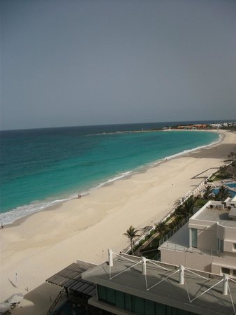 Sun Palace: View from 6th floor balcony (629)