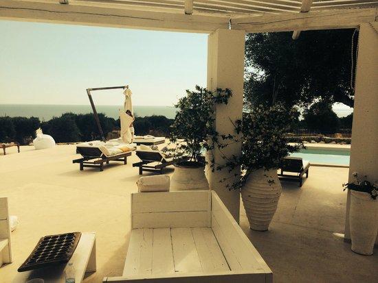 Grand Hotel l'Approdo: Morning @ Villa Pajare Francesi, Santa Maria di Leuca