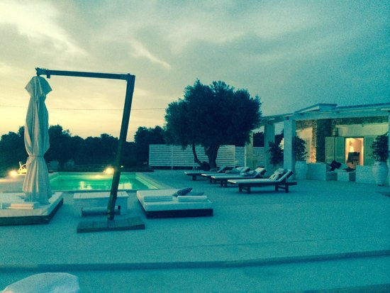 Grand Hotel l'Approdo: Evening @ Villa Pajare Francesi, Santa Maria di Leuca