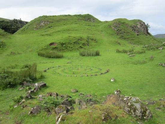 Cuil Lodge Bed & Breakfast: nearby faerie glen, must see