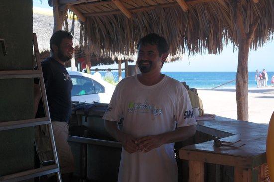 Cabo Pulmo Marine Preserve: Atención de primera Juan y Alejandro