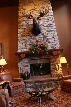 The Lodge at Jackson Hole : Reception Area