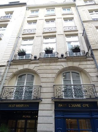 Best Western Paris Louvre Opera: Best Western Paris Lourve Opera front view