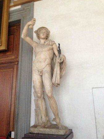 Galería de los Uffizi: Гермес