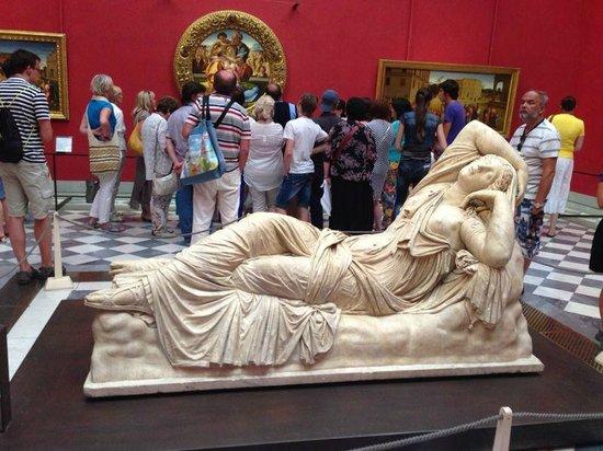 Galería de los Uffizi: Зал Боттичелли