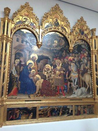 Uffizien (Galleria degli Uffizi): Поклонение волхвов