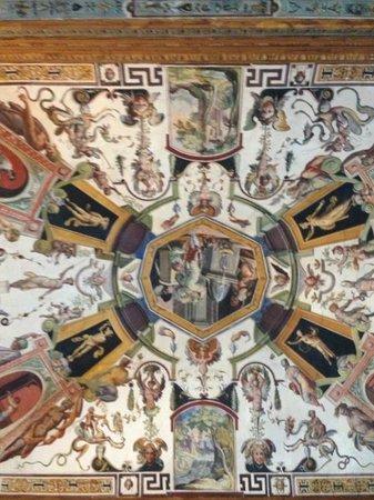 Galería de los Uffizi: Потолки галереи