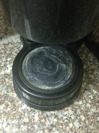 Travelodge New Orleans West Harvey Hotel: And this coffee pot was last cleaned...when?