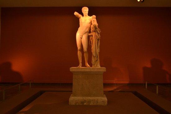 Archaeological Museum at Ancient Olympia: Estátua de Zeus