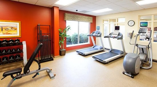 Hilton Garden Inn Indianapolis/Carmel: Stick to your workout routine while you travel