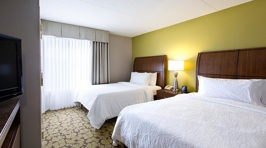 Hilton Garden Inn Indianapolis/Carmel: Double bed guest room