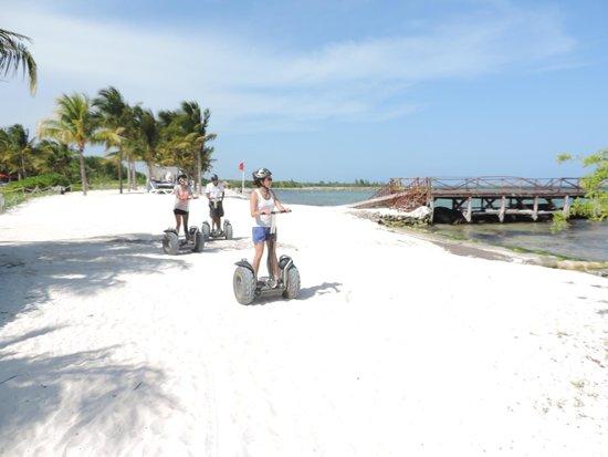 Hacienda Tres Rios : Tour de segway por la playa