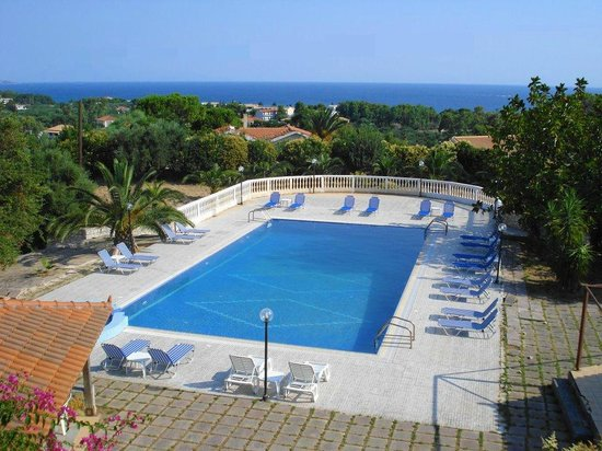 Zante Hill Apartments : BEST VIEW
