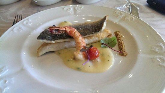 Restaurante Goya : Sea bass 52 degrees