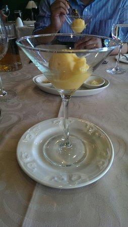 Restaurante Goya : Mango sorbet