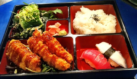 A Classic KIBOUsushi Bento Box - filled with yumminess!