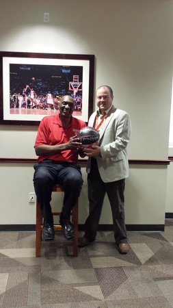 Toyota Center: Elvin Hayes was charming