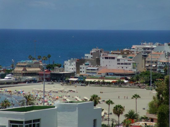 TRYP Tenerife : Room view with partial sea view still great.