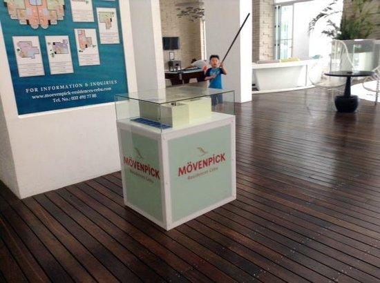 Movenpick Hotel Mactan Island Cebu: В холле