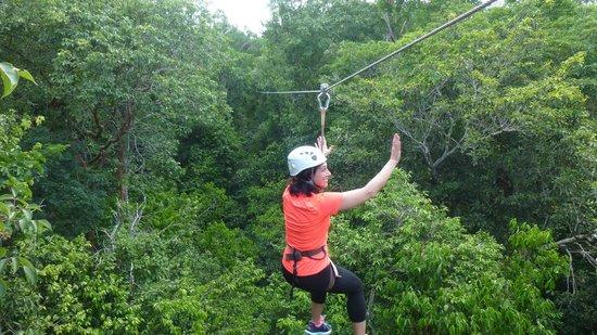 Edventure Tours: The zipline