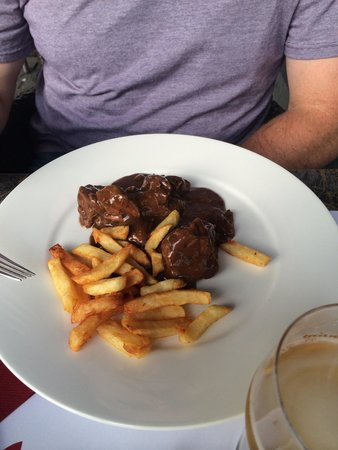 Passion: Stew with fries! Yumm-O