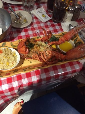 Lobster Pot Restaurant: Ottima