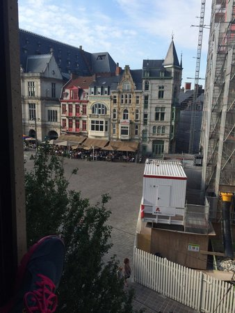 Ibis Gent Centrum St-Baafs Kathedraal: View from our room