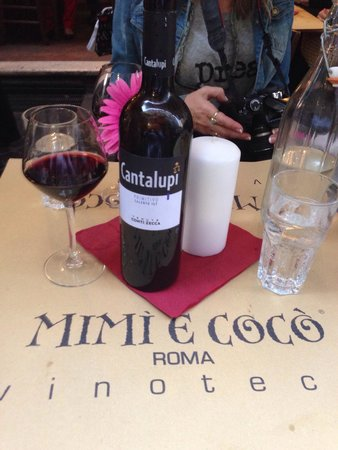 Mimi e Coco : Great wine bar