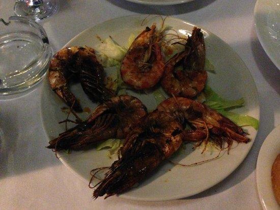 Selam Restaurant: Bbq prawns