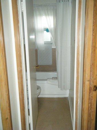 Strathcona Motel: Bathroom.