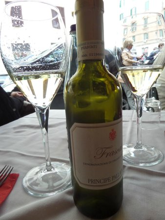 Ristorante Taverna Lino: Wine I have not been able to find since!