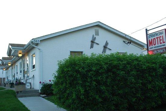 Strathcona Motel: No Vacancy at the Strathcona.