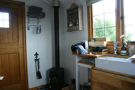 Skye Shepherd Huts: Inside the hut