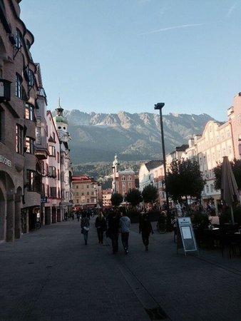 Sporthotel Schieferle : Downtown Innsbruck. 25 minutes by tram.