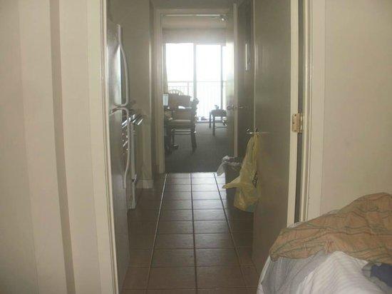 Sandy Beach Resort: from bedroom looking into living area