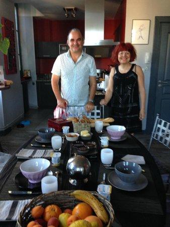 Onigourmand : charming hosts