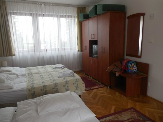 Hotel Pension Helios : Room