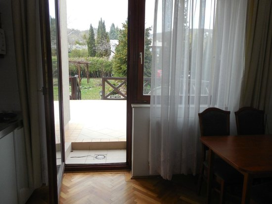Hotel Pension Helios: Terace