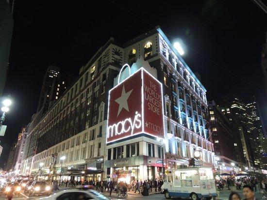 Hotel Stanford : Macy's, 10% de desconto para Brasileiros