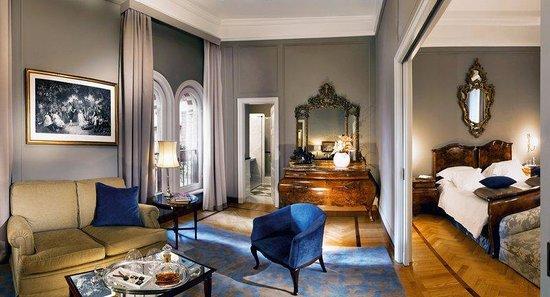 Grand Hotel et de Milan: Superior Suite Dom Pedro II
