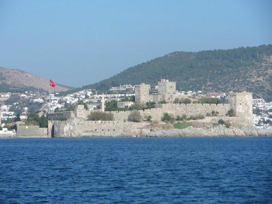 Castle of St. Peter : Vista desde el mar