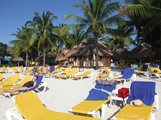 Iberostar Cozumel: Beach area