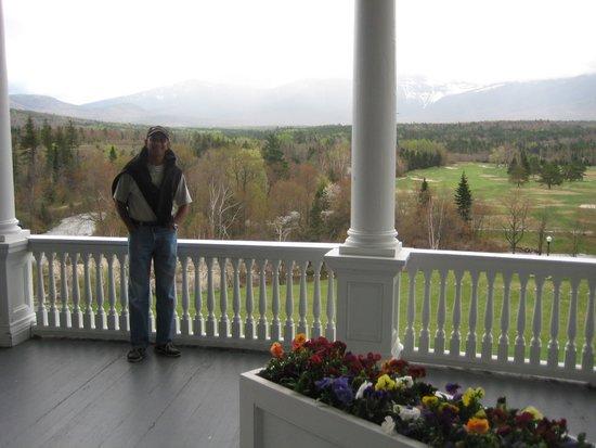 Omni Mount Washington Resort: Verandah