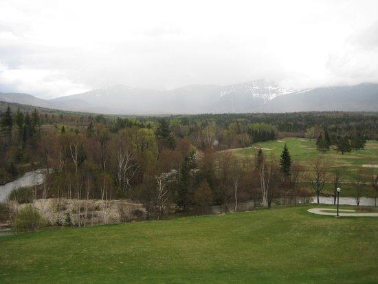 Omni Mount Washington Resort: view from the hotel