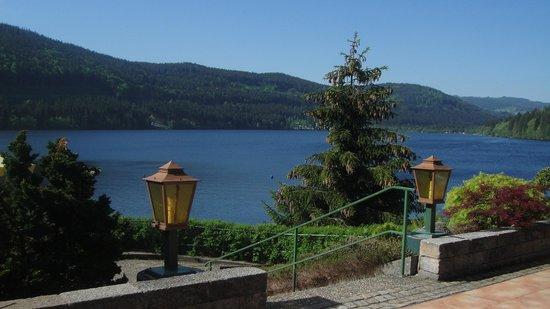 Treschers Schwarzwald Romantik Hotel: Nice Breakfast in the terrace